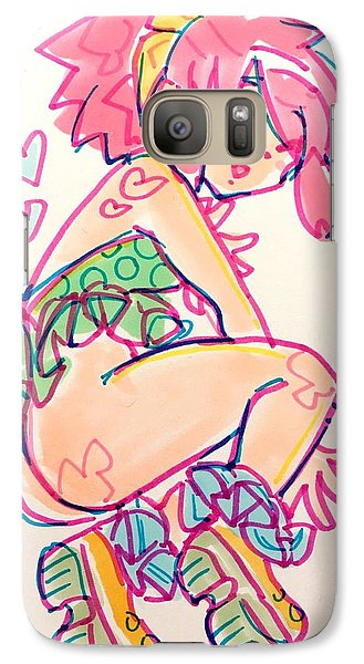 Girl01 Galaxy S7 Case