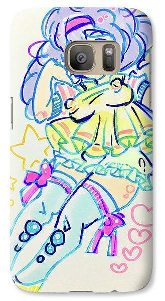 Girl04 Galaxy S7 Case