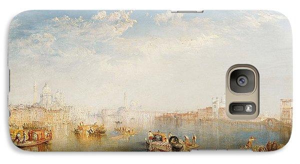 Boat Galaxy S7 Case - Giudecca La Donna Della Salute And San Giorgio  by Joseph Mallord William Turner