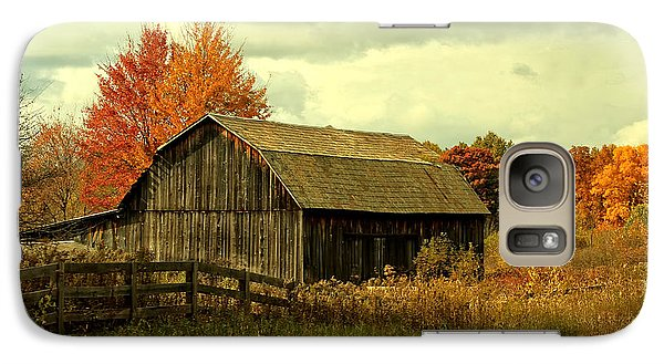 Galaxy Case featuring the photograph Fall Has Always Been My Favorite Season. by Skip Tribby