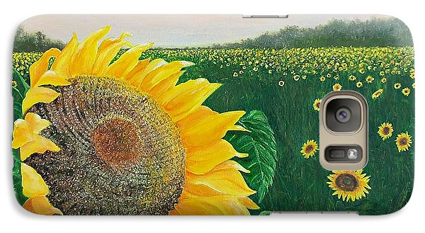 Galaxy Case featuring the painting Giver Of Life by Susan DeLain
