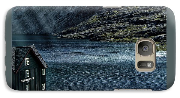 Galaxy Case featuring the photograph Glacial Lake by Jim Hill