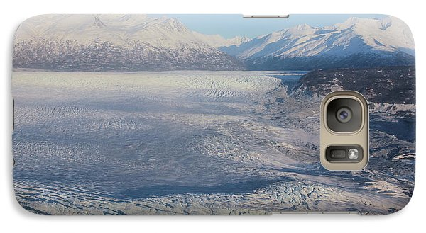 Galaxy Case featuring the photograph Glacier In Alaska by Jingjits Photography