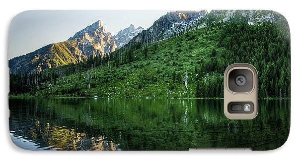 Galaxy Case featuring the photograph Glacier Lake by Rebecca Hiatt