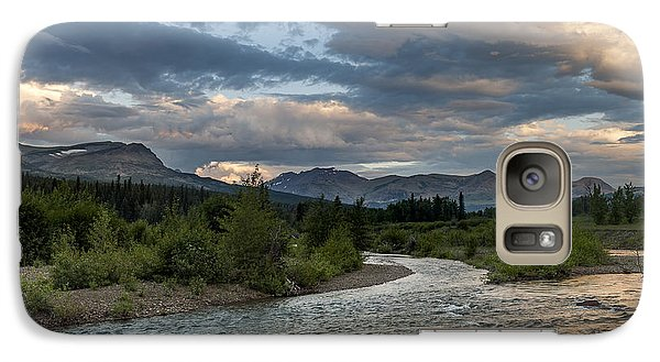 Galaxy Case featuring the photograph Glacier National Park 100th Anniversery by Kevin Blackburn