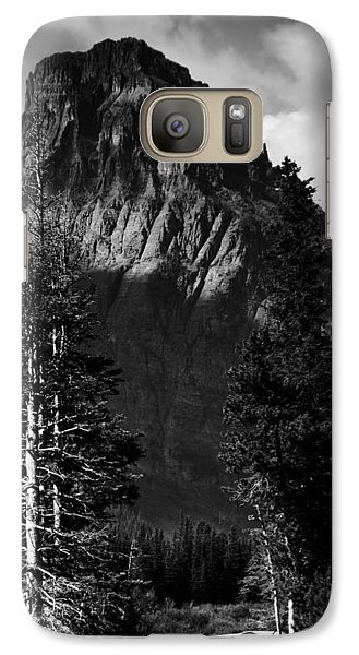 Galaxy Case featuring the photograph Glacier National Park Fifty Three by Kevin Blackburn