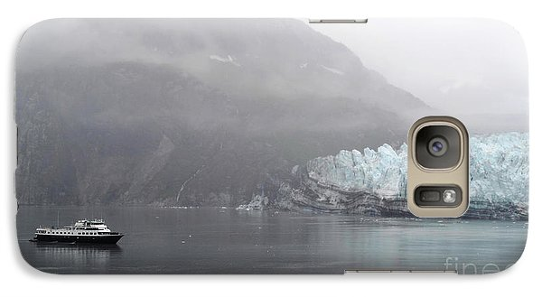 Galaxy Case featuring the photograph Glacier Ride by Zawhaus Photography