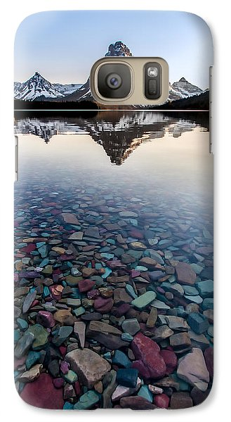 Galaxy Case featuring the photograph Glacier Skittles by Aaron Aldrich