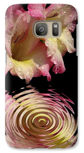 Galaxy Case featuring the photograph Glad Drip by Rick Friedle