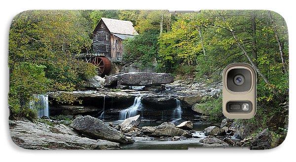 Galaxy Case featuring the photograph Glade Creek Grist Mill by Ann Bridges