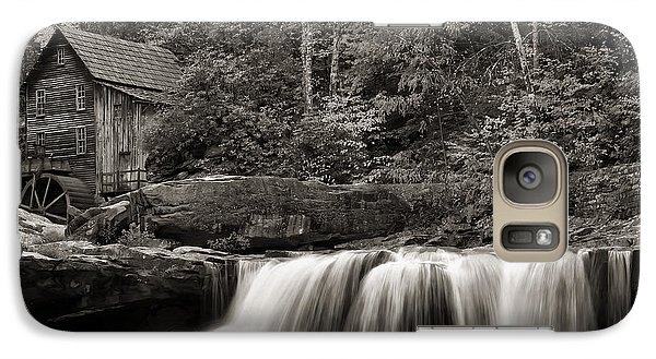 Glade Creek Grist Mill Monochrome Galaxy S7 Case