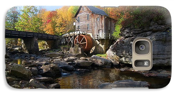 Galaxy Case featuring the photograph Glade Creek Grist Mill by Steve Stuller