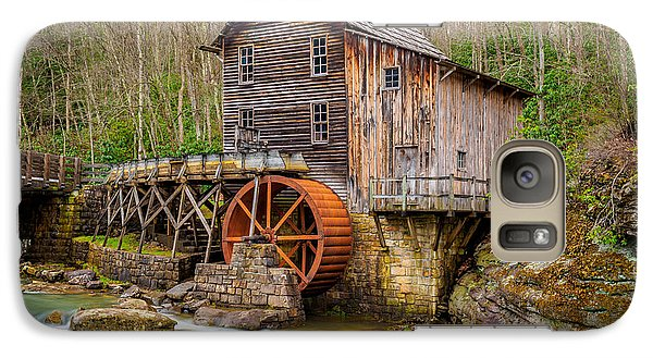 Galaxy Case featuring the photograph Glade Creek Grist Mill by Steve Zimic