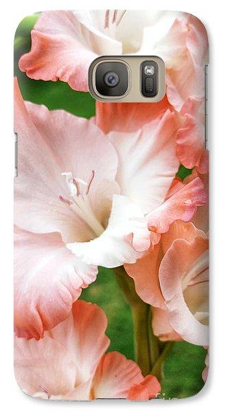 Gladiolus Ruffles  Galaxy S7 Case