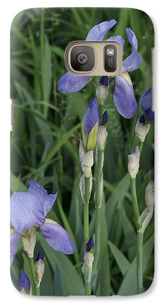 Galaxy Case featuring the photograph Glads by Cynthia Powell