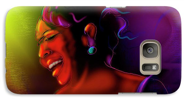 Galaxy Case featuring the painting Gladys Knight by DC Langer