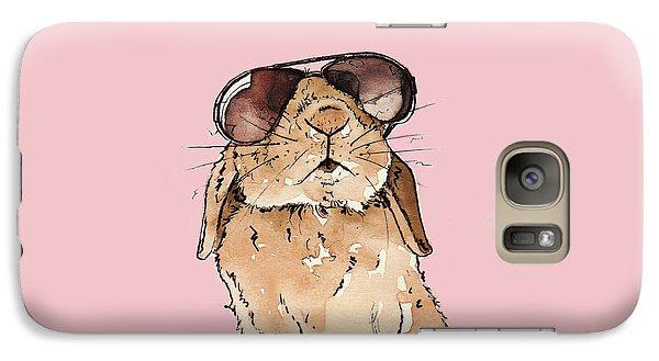 Glamorous Rabbit Galaxy S7 Case by Katrina Davis