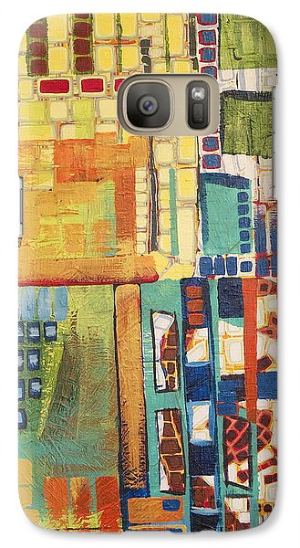 Galaxy Case featuring the painting Glass Bottom Boeing by Donna Howard