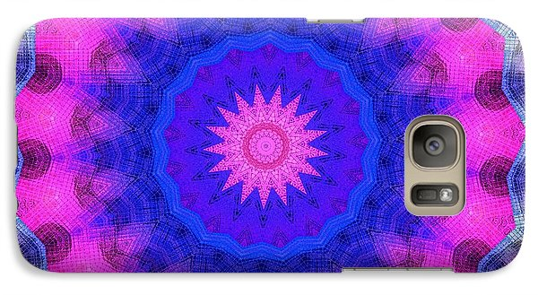 Galaxy Case featuring the photograph Glass Insanity by Chad and Stacey Hall