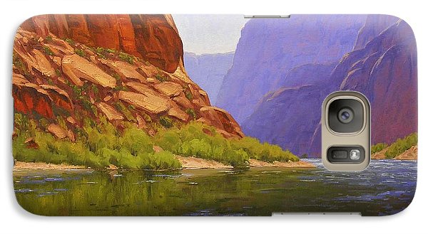 University Of Arizona Galaxy S7 Case - Glen Canyon Morning by Cody DeLong