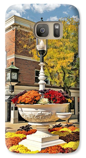 Galaxy S7 Case featuring the painting Glen Ellyn Watering Trough by Christopher Arndt