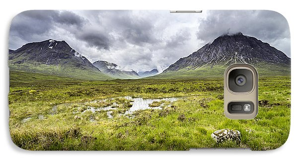Galaxy Case featuring the photograph Glencoe by Jeremy Lavender Photography