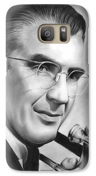 Trombone Galaxy S7 Case - Glenn Miller by Greg Joens