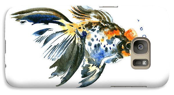 Goldfish Galaxy Case by Suren Nersisyan