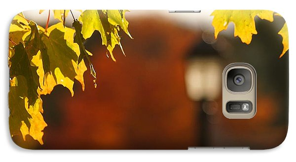 Galaxy Case featuring the photograph Glimpse Of Autumn by Aimelle