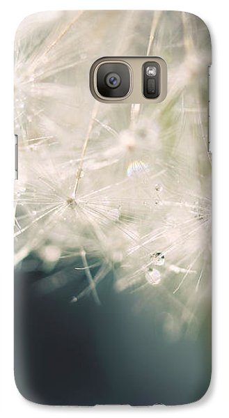 Galaxy Case featuring the photograph Glisten by Amy Tyler