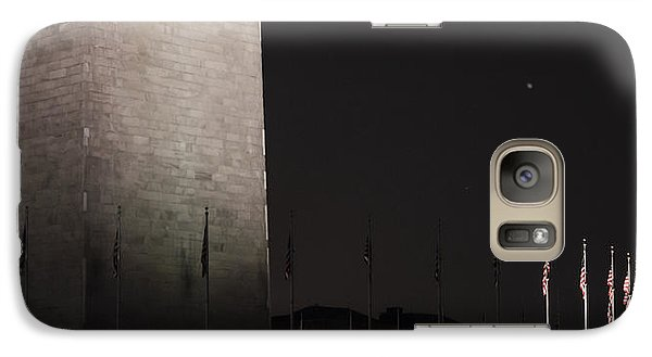 Glmpse Of The Washington Monument Galaxy S7 Case