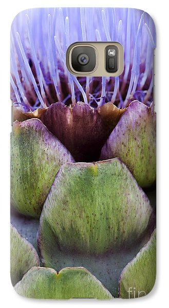 Globe Artichoke Galaxy S7 Case by Tim Gainey