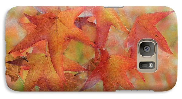 Galaxy Case featuring the photograph Glorious Autumn by Angie Vogel