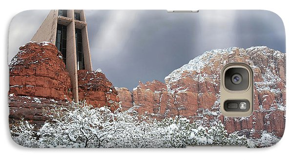 Galaxy Case featuring the photograph Glorious Chapel Of The Holy Cross by Donna Kennedy