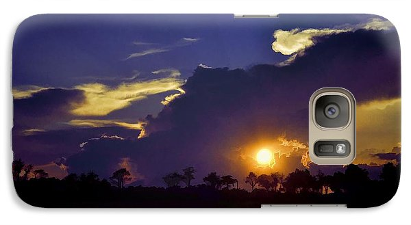 Galaxy Case featuring the photograph Glorious Days End by Jan Amiss Photography