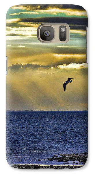 Galaxy Case featuring the photograph Glorious Evening by Jan Amiss Photography