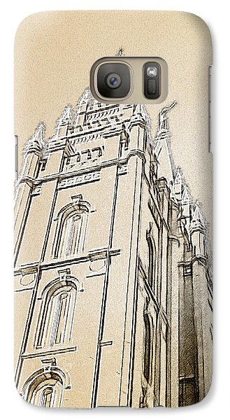 Galaxy Case featuring the drawing Glory And Majesty by Greg Collins