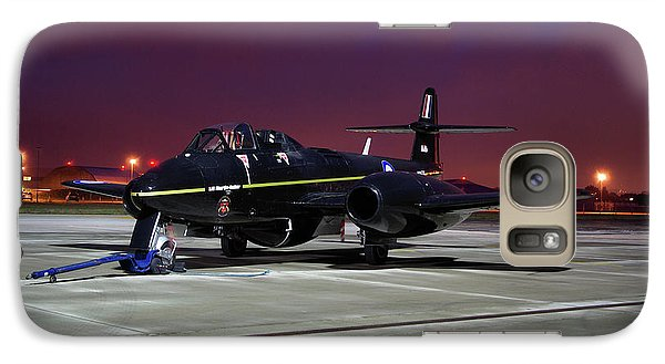 Galaxy Case featuring the photograph Gloster Meteor T7 by Tim Beach