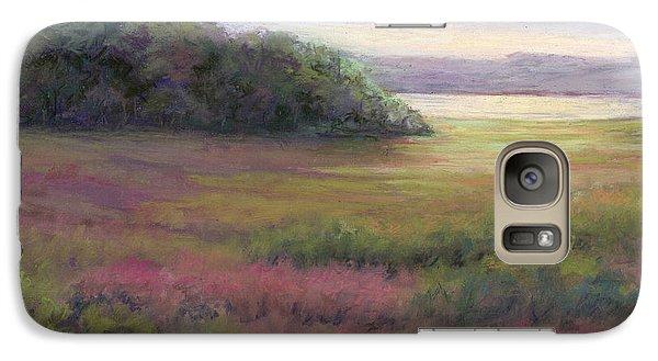 Galaxy Case featuring the painting Glow On Gilsland Farm by Vikki Bouffard