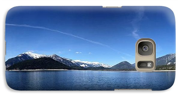 Galaxy Case featuring the photograph Glowing In The Blue by Victor K