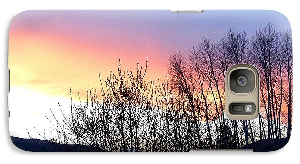 Galaxy Case featuring the photograph Glowing Kalamalka Lake by Will Borden