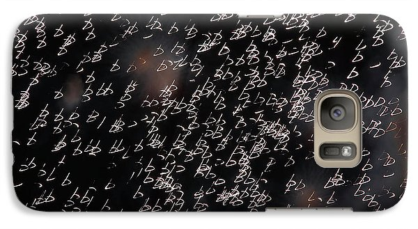 Galaxy Case featuring the photograph Glowing Shapes by Michal Boubin