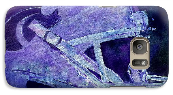 Galaxy Case featuring the painting Go Cats by Jeffrey S Perrine