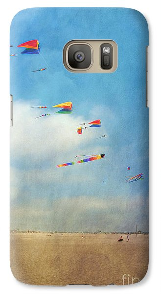Galaxy Case featuring the photograph Go Fly A Kite by David Zanzinger