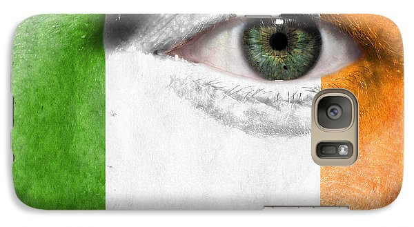 Galaxy Case featuring the photograph Go Ireland by Semmick Photo