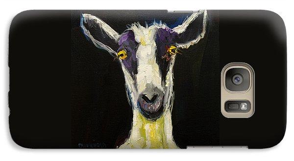 Goat Galaxy S7 Case - Goat Gloat by Diane Whitehead