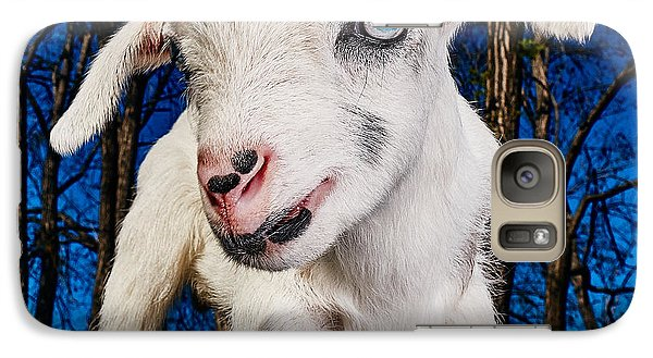 Goat High Fashion Runway Galaxy Case by TC Morgan