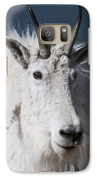 Goat Portrait Galaxy S7 Case