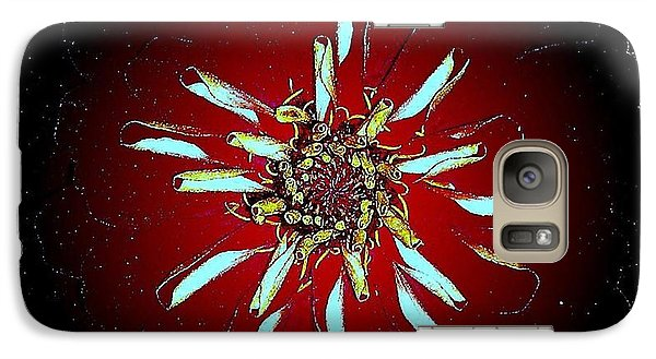 Galaxy Case featuring the photograph God Created Abstract by Greg Moores