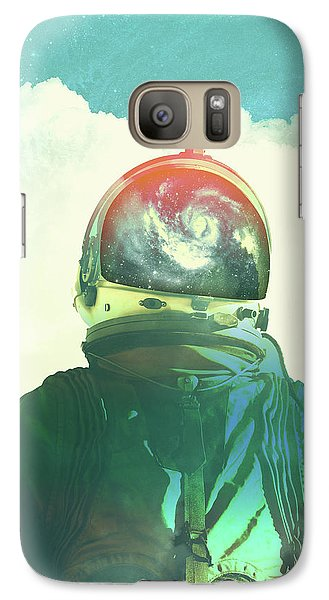 Surrealism Galaxy S7 Case - God Is An Astronaut by Fran Rodriguez